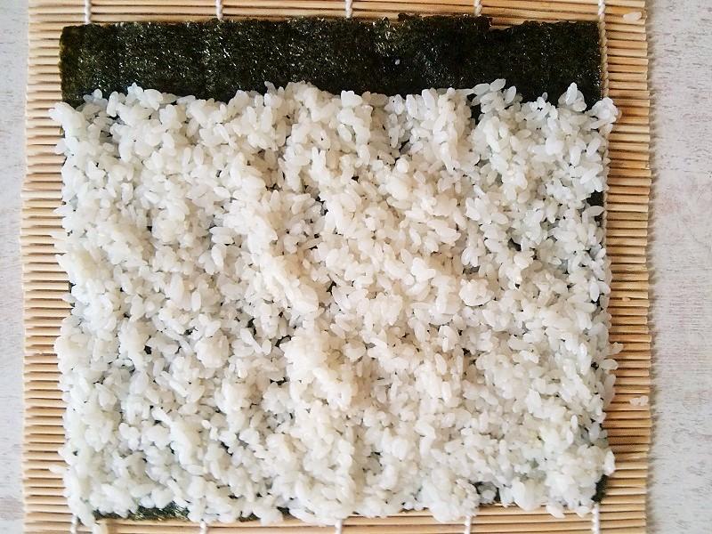 kimbap rozkładanie ryżu (2)