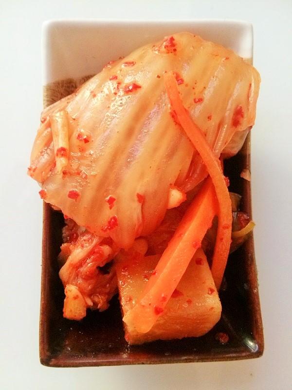 Kilkutygodniowe kimchi